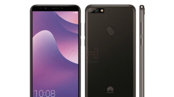 Huawei Y7 (2018) leaked press render shows off yet another upcoming 18:9 smartphone