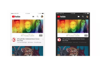 YouTube for iOS updated with dark mode, Android version to get it