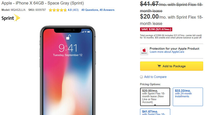 Best Buy and Sprint offer major discounts on the iPhone X, 7/8/Plus