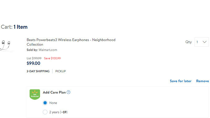 Deal: Apple Powerbeats3 wireless headphones on sale at Walmart for less than $100