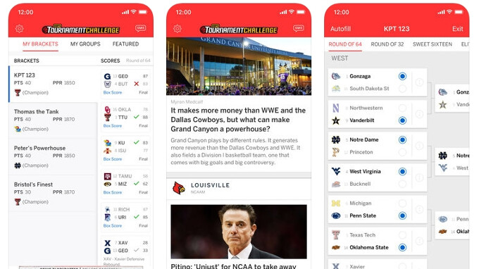 March Madness 2018 stream and bracket apps for iPhone and Android