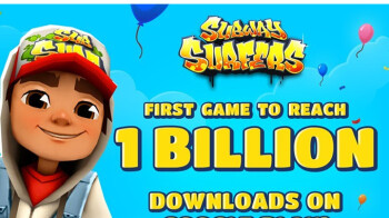 Subway Surfers is world's first game to reach 1 billion downloads on the Play Store
