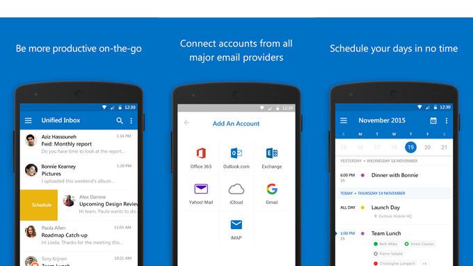 Das Outlook für Android-Update fügt Kalender-Anhänge hinzu, mehr