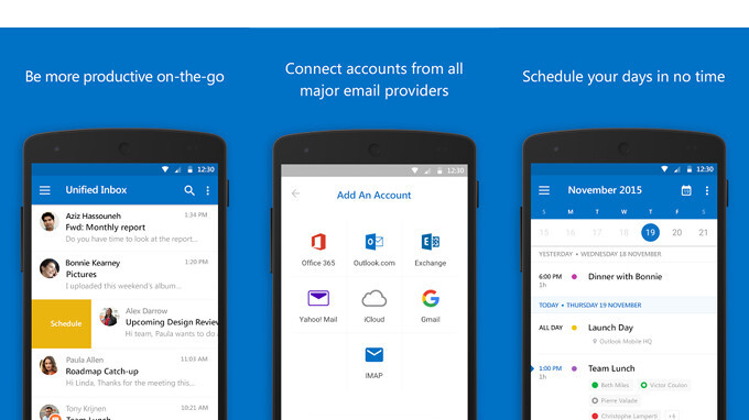 Android Calendar.Outlook For Android Updated With Calendar Attachments Phonearena