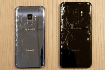 Galaxy S9 breakability test results show improvement over the S8