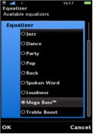 Separate app brings an equalizer to the Sony Ericsson Vivaz & Satio
