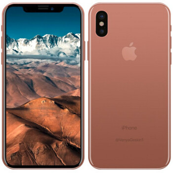 iPhone X in Blush Gold could be released soon?