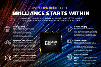 MediaTek's Q2 sales to be led by Helio P60 chipset