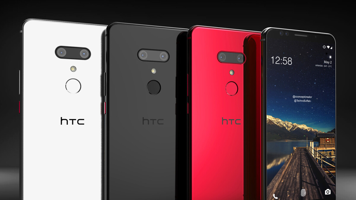 Superb HTC U12+ renders could be giving us an early sneak peek at the phone's design