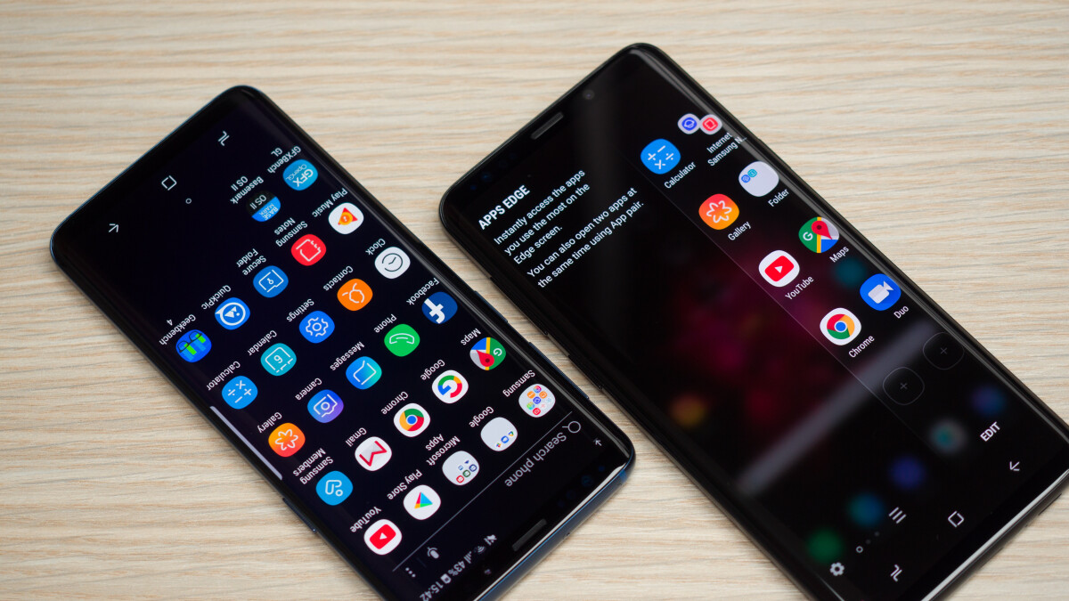 Some Samsung Galaxy S9+ devices reported to have a malfunctioning touchscreen