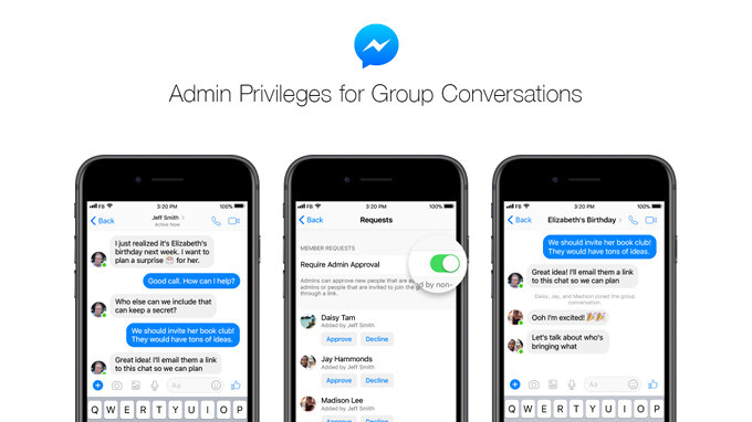 Facebook gives more power to group chat admins in latest Messenger update