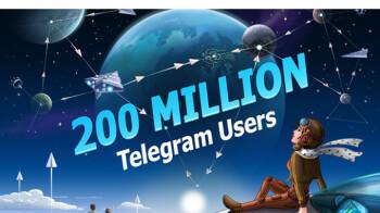Telegram announces impressive 200 million monthly active users milestone, releases new update