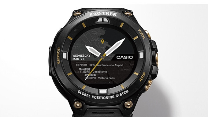 Casio unveils limited-edition WSD-F20SC smartwatch powered by Wear OS