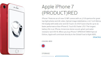 Deal: 256GB iPhone 7 Red is $450 at Xfinity Mobile