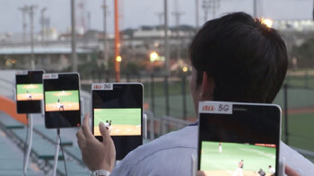 Samsung, KDDI run multi-device 5G test at a Japanese ballpark using prototype tablets