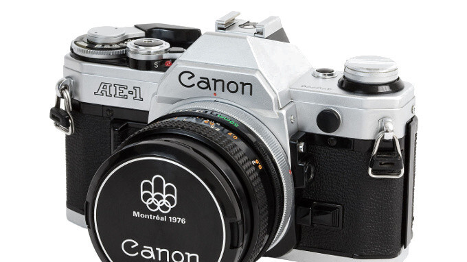 Every time you take a photo with an iPhone, you are actually hearing the shutter sound of a Canon film camera