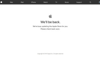The Apple Store is down, you know what this means