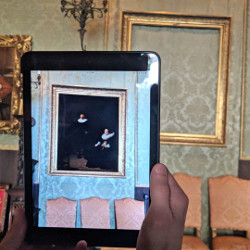 An app developed with Apple's ARKit lets you see stolen paintings worth over $500 M