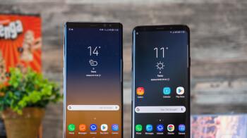 Note 9 pops up on a Samsung website
