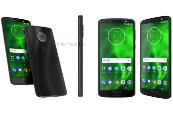 The upcoming Moto G6 gets pictured from every angle