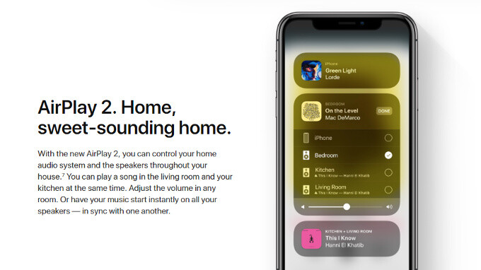 iOS 11.3 leaves AirPlay 2 out
