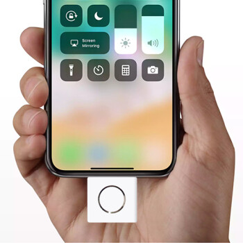 Apple unveils iPhone X home button add-on with Touch ID and headphone jack