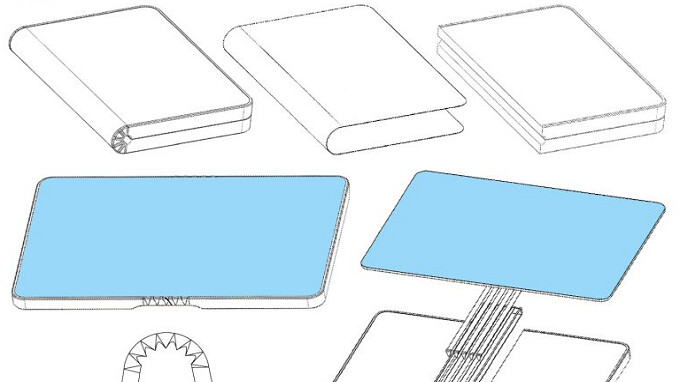 Huawei's folding phone patent shows how a phone turns into a tablet and vice versa