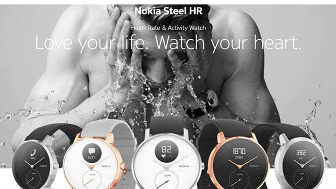 Nokia Steel Hr Smartwatch On Sale For 30 Off