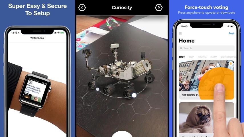 die besten neuen android und iphone apps april 2018. Black Bedroom Furniture Sets. Home Design Ideas