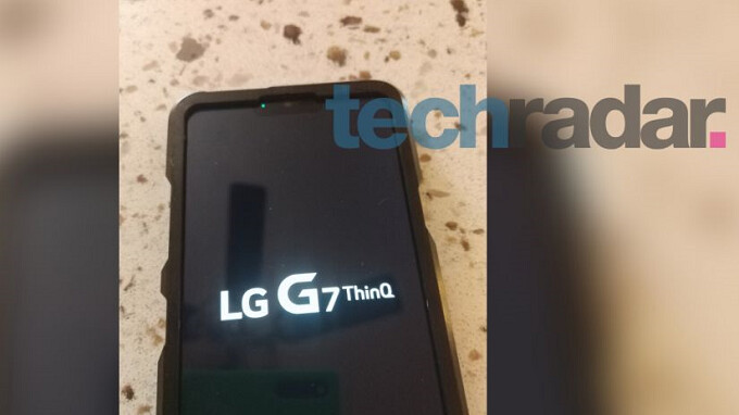 LG G7 ThinQ appears in leaked photos, notch and all