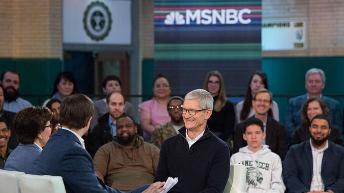 Apple CEO Tim Cook is creeped out by ads that follow him around the internet