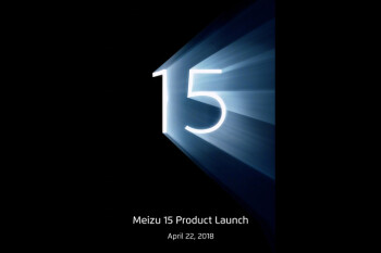 Meizu 15 lineup coming April 22 according to leaked poster