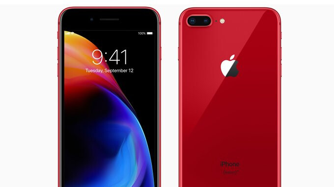 Verizon Iphone  Plus Red