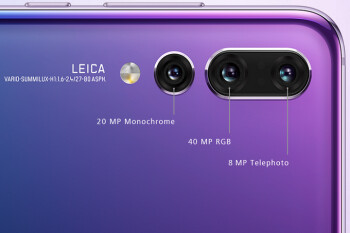 Despite Huawei's claim, teardown of P20 Pro seems to indicate that all three cameras carry OIS