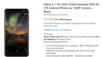 Beefed up Nokia 6 2018 goes on sale in the US