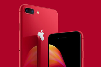 You can now buy a red iPhone 8/8 Plus