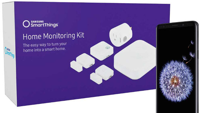 Deal: Unlocked Galaxy S9 and S9+ now come with a free SmartThings Home Monitoring Kit