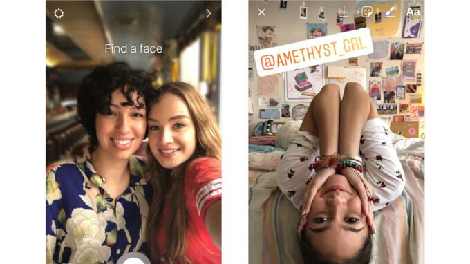 Instagram führt einen neuen Portrait-Modus ein und erwähnt den Sticker in Stories