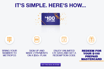 Switch to pre-paid carrier MetroPCS and get 2 free months of unlimited service