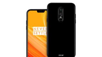 The OnePlus 6's design showcased in new fan-made case renders