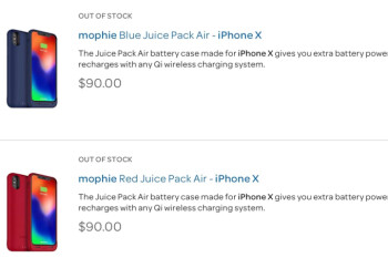 Mophie's Juice Pack Air for iPhone X to be its first Qi-certified battery charging case