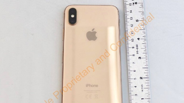 Unreleased gold iPhone X shown off in FCC filing
