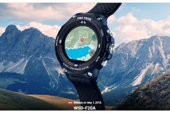 Casio WSD-F20A is a new Wear OS watch that's (somewhat) affordable
