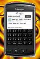 Google Mobile App finally lands on BlackBerry Storm phones