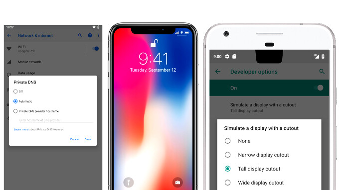 IPHONE X NAVIGATION ON ANDROID