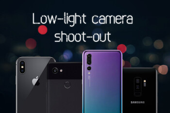 Huawei P20 Pro vs Pixel 2 XL vs Galaxy S9+ vs iPhone X: low-light camera shoot-out