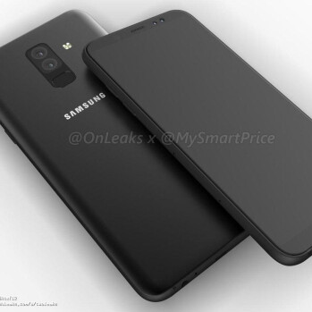 Galaxy A6 & A6+ renders reveal Infinity displays & more