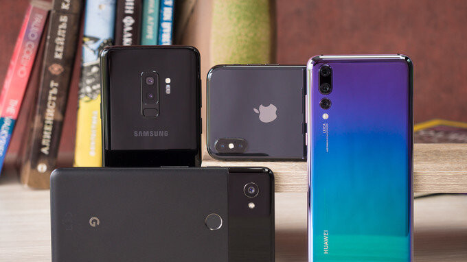 Huawei p20 pro vs iphone x benchmark