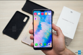 Huawei considered the display notch years before the iPhone X