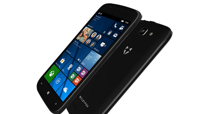 The Wileyfox Pro Windows 10 Mobile handset is available once more